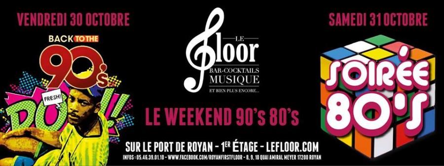 Le week end 90's – 80's
