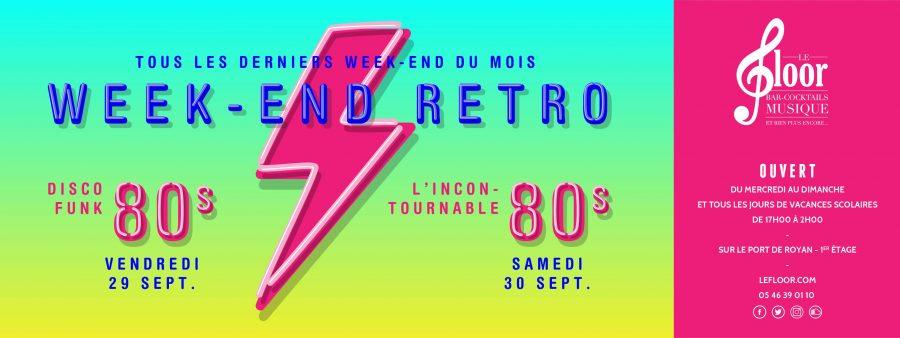 29-30 SEPTEMBRE Weekend Rétro – Nouvelle Formule – Années 80