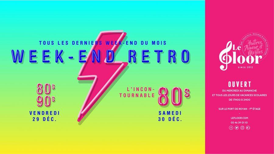 29-30 DÉCEMBRE – Week-end Rétro
