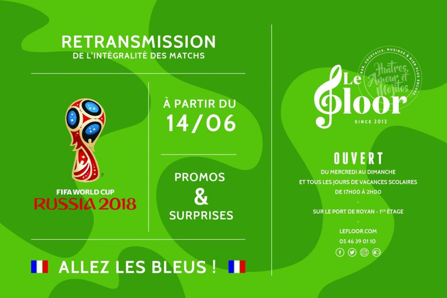 À partir du 14 JUIN – Fifa World Cup