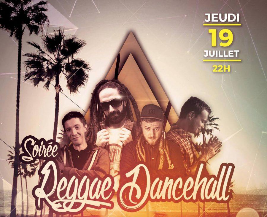 Jeudi 19 Juillet – Soirée Reggae Dancehall