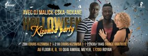 MERCREDI 31 OCTOBRE - Halloween Kizomba Party @ Le Floor