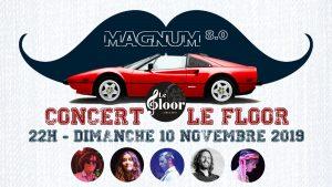 DIMANCHE 10 NOVEMBRE - Concert Magnum80 @ Le Floor