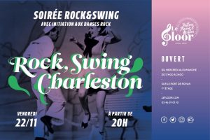 VENDREDI 22 NOVEMBRE - Soirée Rock - Initiation Rock & Charleston @ Le Floor