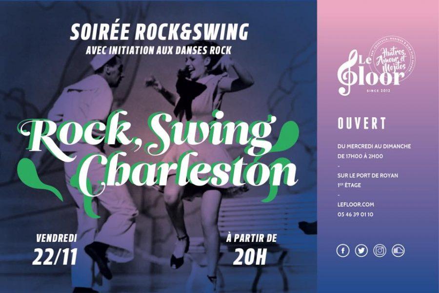 VENDREDI 22 NOVEMBRE – Soirée Rock – Initiation Rock & Charleston