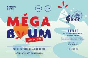 SAMEDI 22 FÉVRIER - La MégaBoum fait du ski ! @ Le Floor